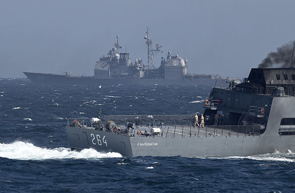 После заключения мира на Донбассе, Украина получит обратно свои военные корабли. Военные корабли