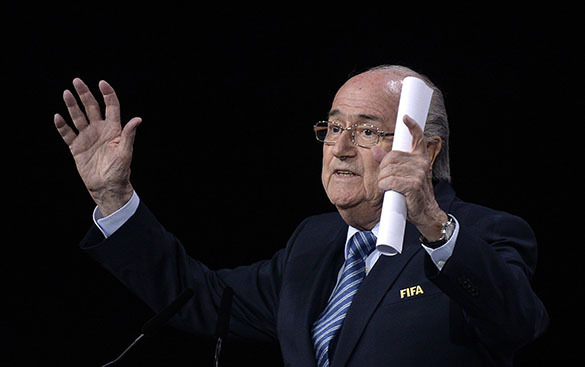 """Советник президента ФИФА: """"Блаттера заставила уйти """"различная информация"""" из США"""". Йозеф Блаттер"""
