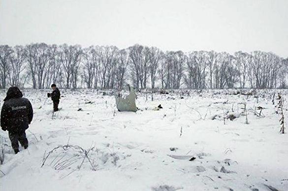 Обломки второго судна обнаружены на месте падения Ан-148. Обломки второго судна обнаружены на месте падения Ан-148