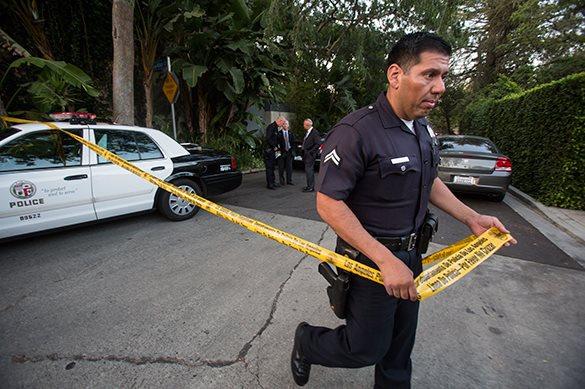 Шок-видео: в США полицейский застрелил юношу за нарушение ПДД. 321999.jpeg
