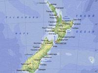 Серия землетрясений произошла в Новой Зеландии