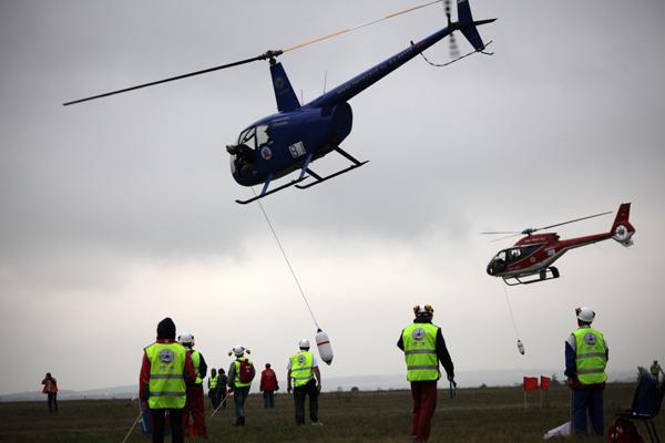 Россия стала лучшей в вертолетном спорте