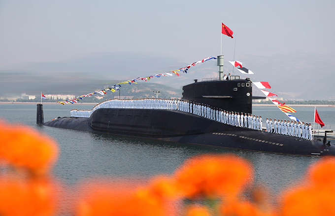 Атомный подводный флот Поднебесной