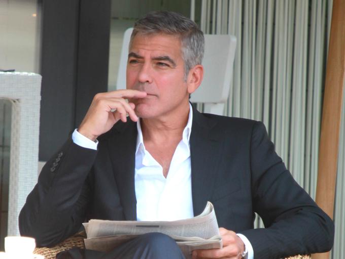 Джордж Клуни бросил Стейси Киблер?