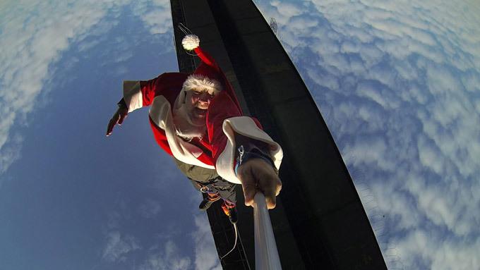 Предновогодние чудачества Санта-Клауса