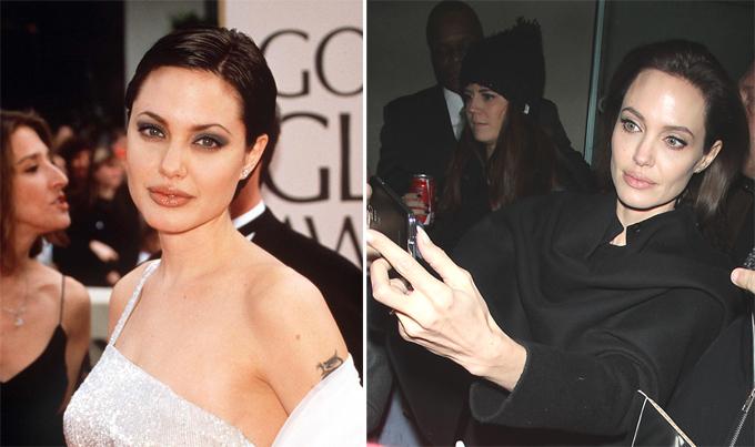 До анорексии только шаг? Анджелина Джоли