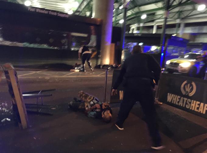 Террористическая атака на Лондон
