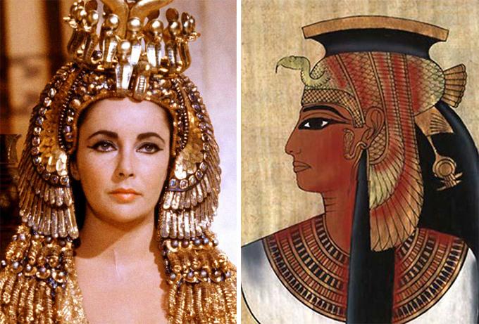 эксперименте клеопатра фото царицы истинное лицо фотосессия