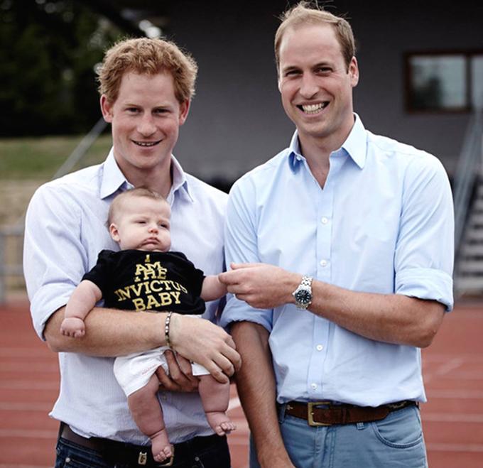 Семейные фотографии королевской семьи