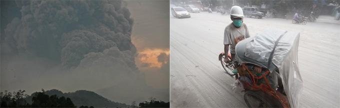 Вулканы беспокоят планету