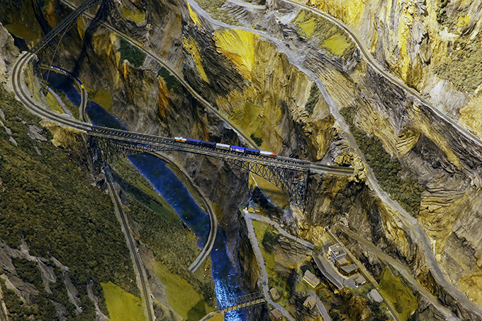 Самый большой в мире макет железной дороги