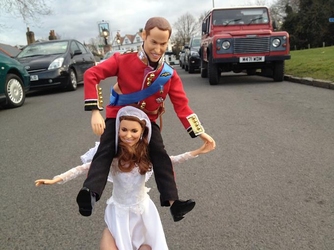 Кукольная жизнь королевской пары