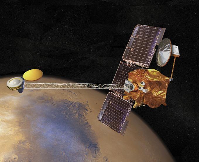 Марс открывает свои секреты?