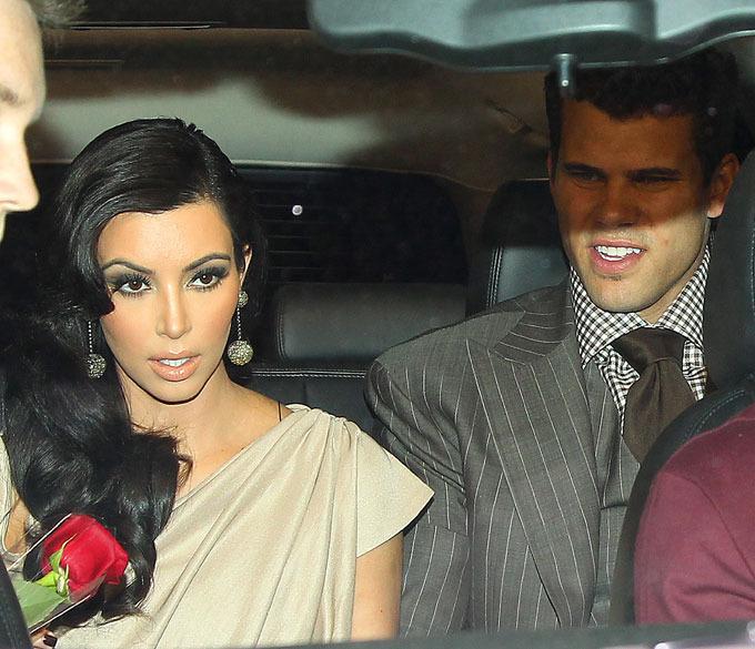 Ким Кардашьян продолжает  праздновать свадьбу