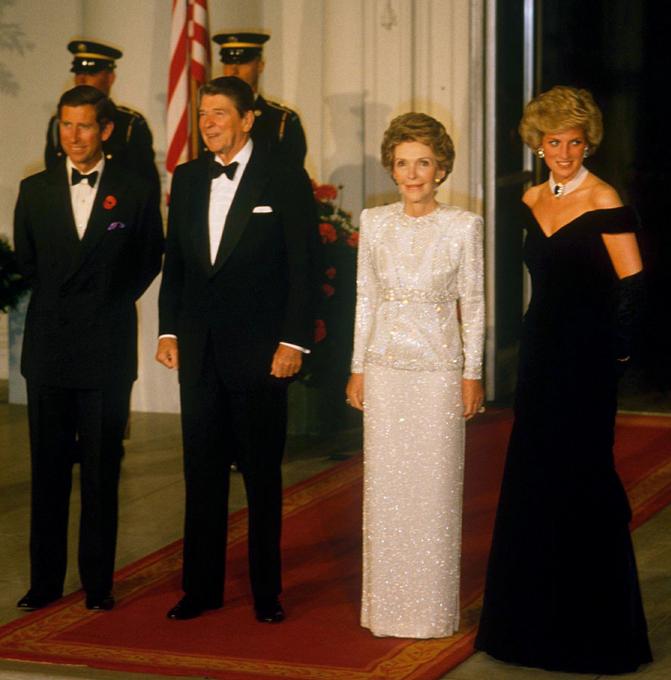 Откровения принца Чарльза. Первая леди Америки Нэнси Рейган