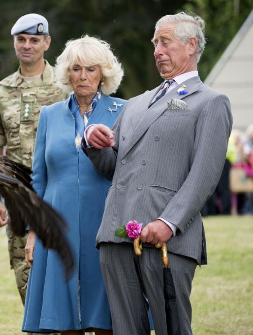 На крючке у фотографа: Камилла Паркер и принц Чарльз
