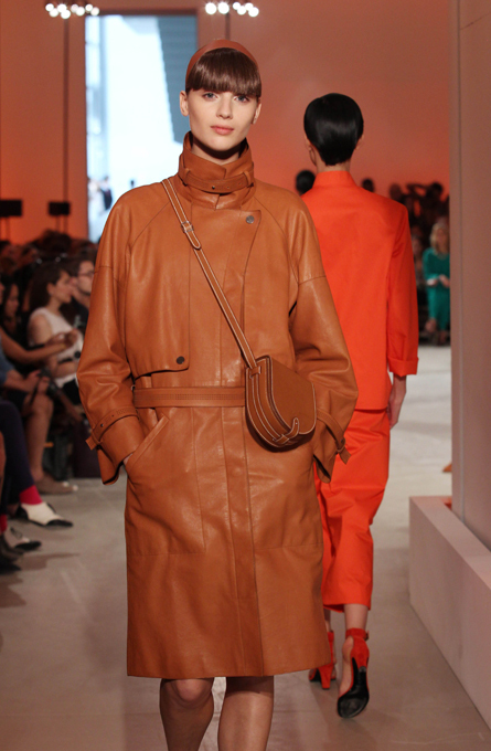 Модное шоу Hermes