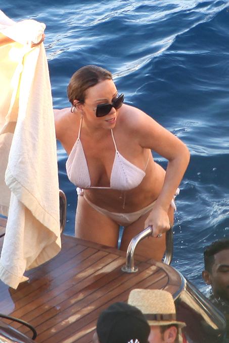 Мэрайя Кэри отдохнула на Капри