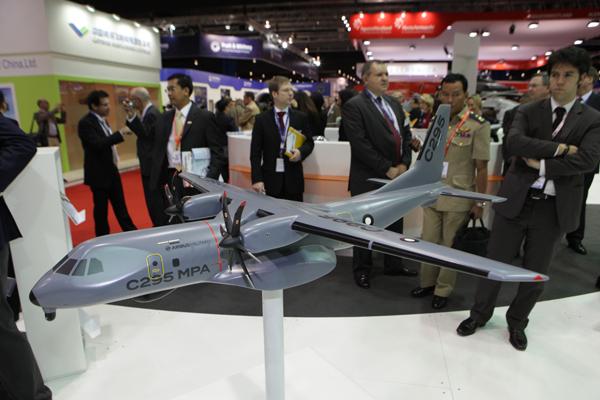 """Авиасалон """"Singapore Airshow-2012"""""""