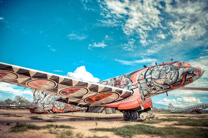Самолет как произведение искусства