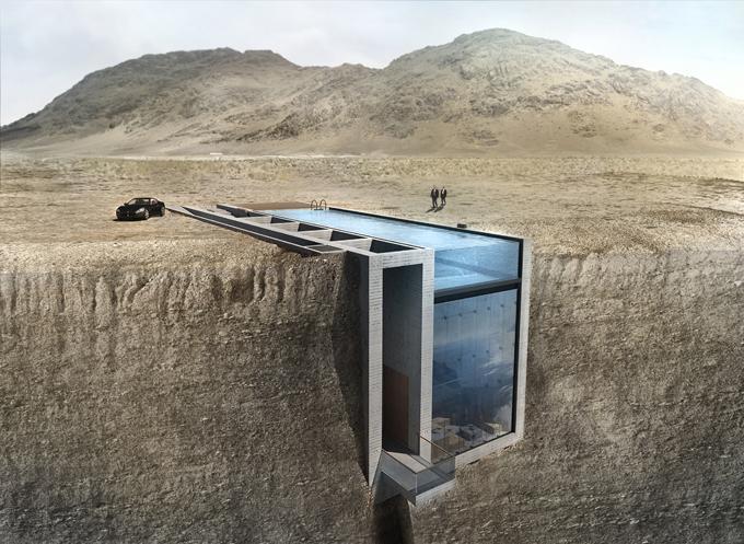Интересное в мире: Дом из стекла