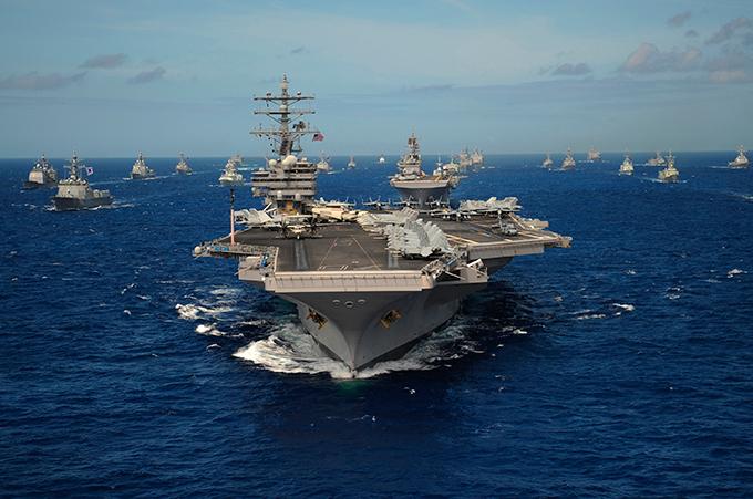Авианосцы — короли флота. Современный авианосец