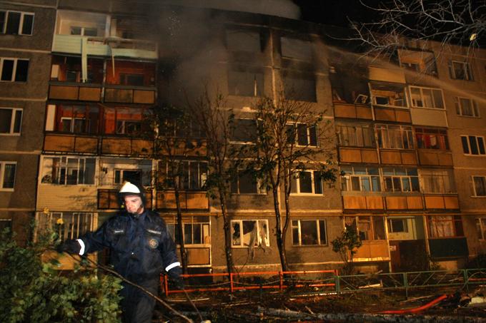 Взрыв бытового газа в жилом доме в Бронницах