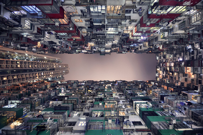 Города уходят в небеса