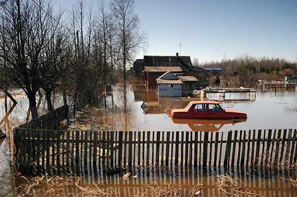 Паводки в регионах России