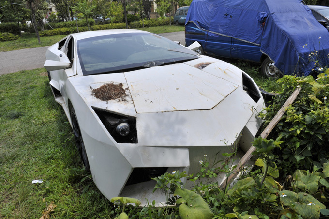 Самодельное Lamborghini