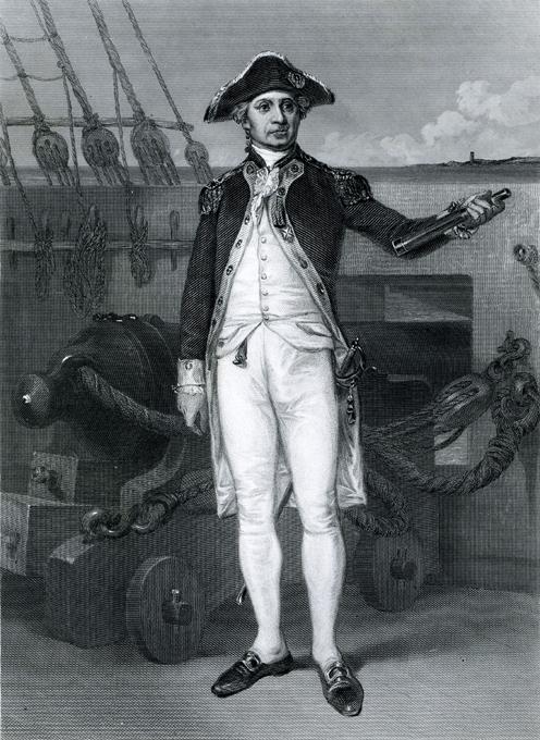 Как отец флота США стал русским контр-адмиралом. Запорожский казак Джон Пол Джонс