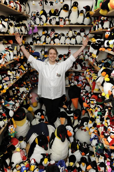 Самая большая коллекция пингвинов