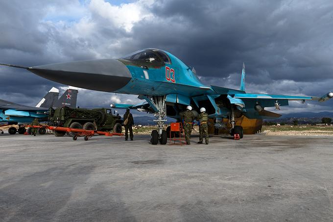 """Летчики США """"уступают дорогу"""" российским самолетам"""