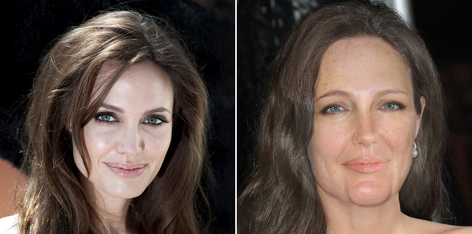 Какими будут звезды через 20 лет. Анджелина Джоли