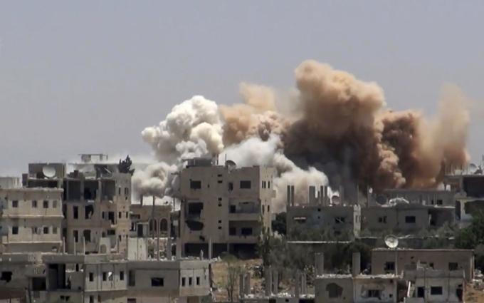 Беспредел США в Сирии