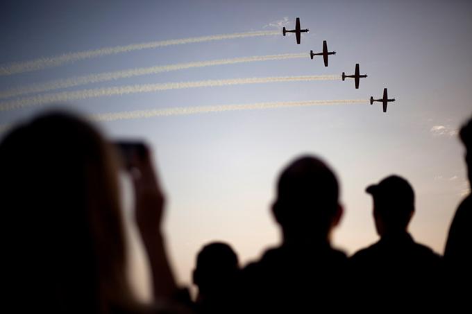 ВВС Израиля показали своих новых пилотов