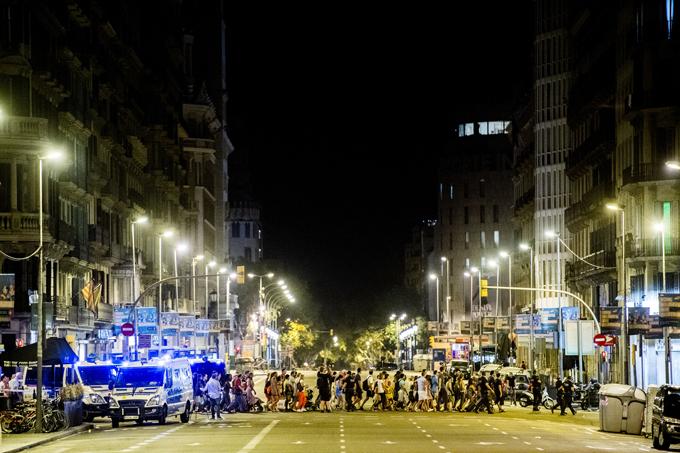 Теракт в Испании