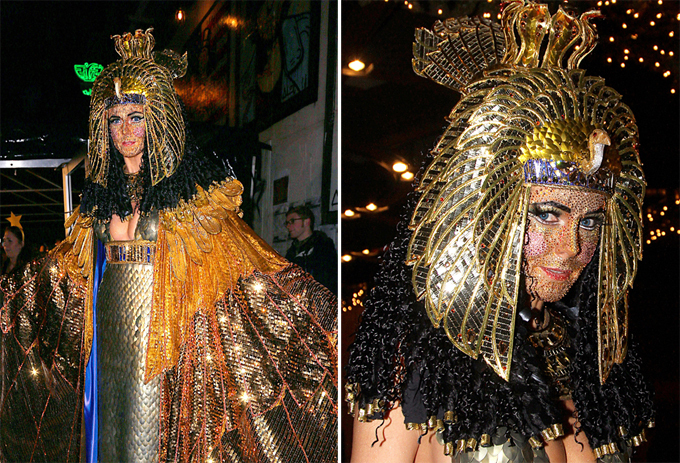 Хайди Клум - страстная поклонница Хэллоуина