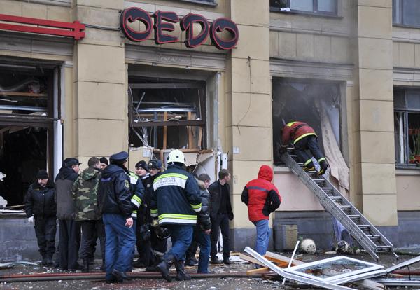В Санкт-Петербурге взорвался ресторан