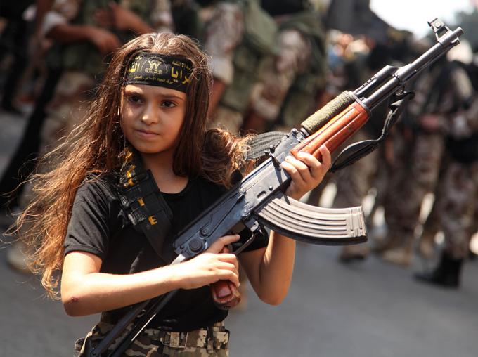 У войны не детское лицо?