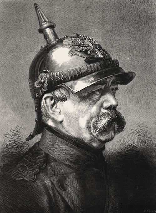 Железный канцлер Второго рейха в карикатуре
