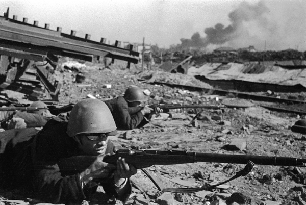 a historical recount of the battle of stalingrad