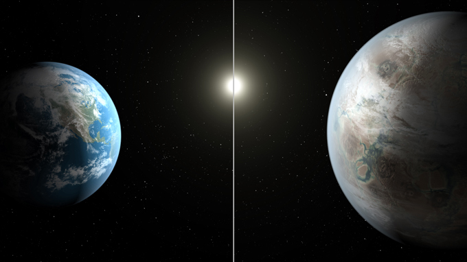 NASA открыло планету, похожую на Землю