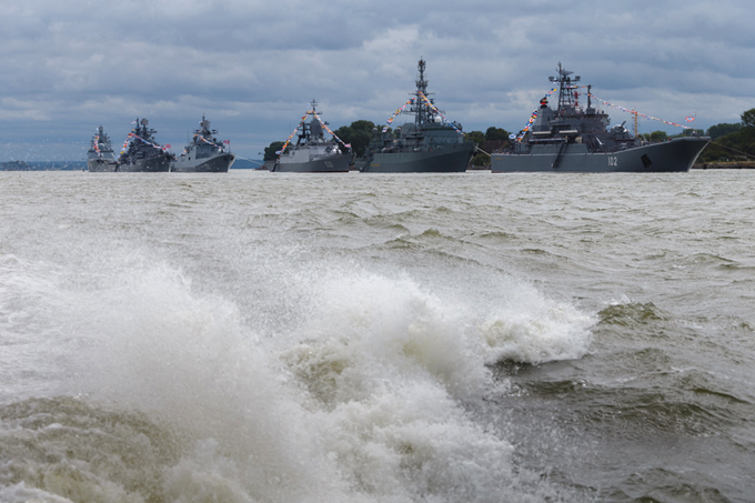 Мощь и сила Балтийского флота