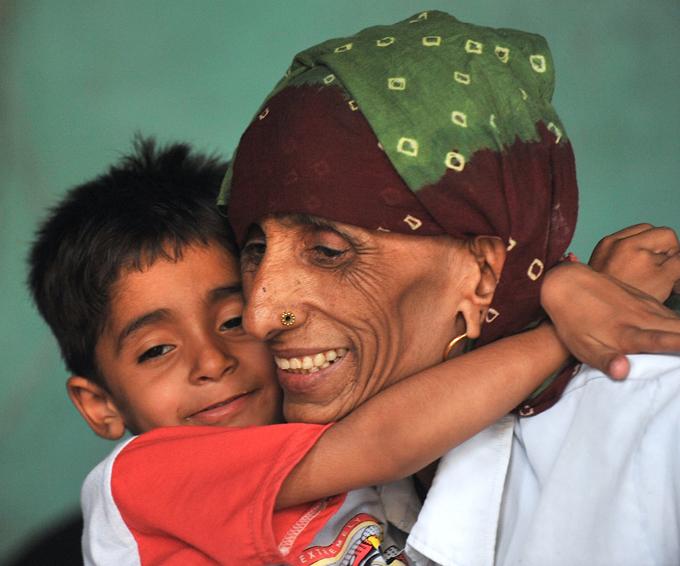 Самая старая мама в мире