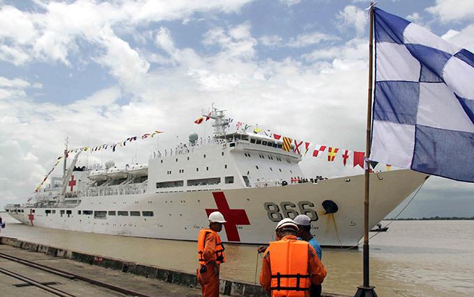 """Корабль-госпиталь """"Ark Peace"""""""