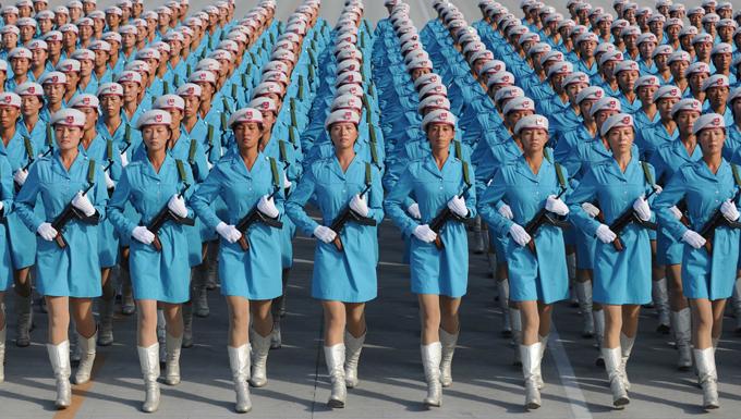 Китайский парад: дао, доходящее через каблуки