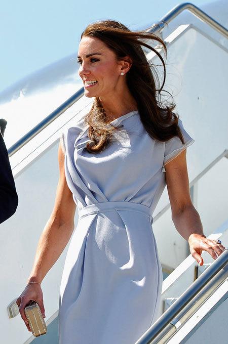 Герцогиня Кэтрин стала самой стильной британкой