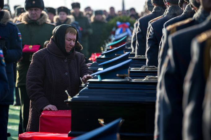 """Вечная память погибшим в крушении """"Ту-154"""""""