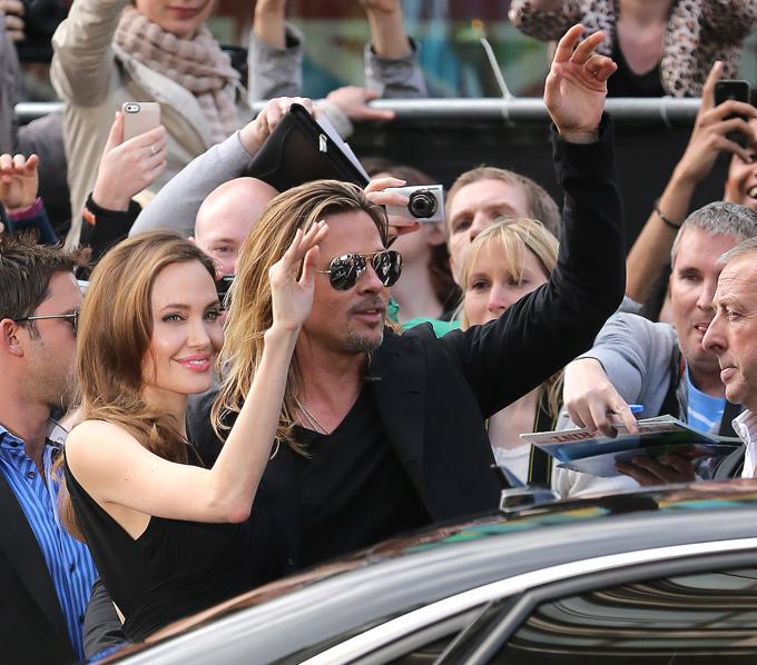 Анджелина Джоли впервые появилась на публике после операции
